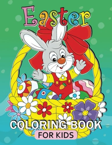 Easter Coloring Book For Kids Relaxing Pages Adult Fun Easy Gift Idea